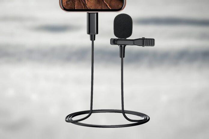 Lighting Cable Built-in Asaiteke Lavalier Microphone