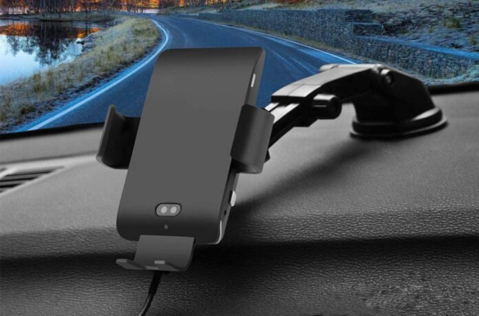MANKIW 10W Qi Fast Charging Car Charger Mount