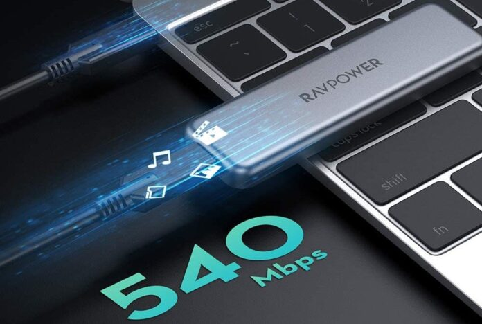RAVPower 512 GB Portable External SSD Pro