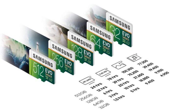 Samsung ElectrEVO Select 256GB MicroSDXC