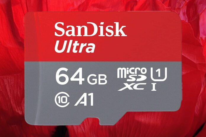 SanDisk 64GB Ultra microSDHC