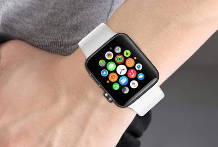 Soft Silicone Apple Watch Band