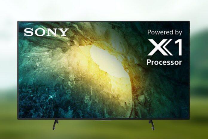 Sony X750H 65-inch 4K Ultra HD LED TV -2020 Model