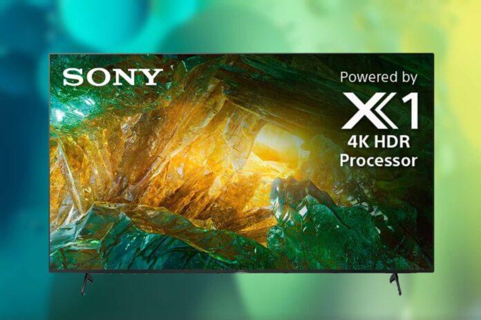 Sony X800H 65 Inch 4K Ultra HD Smart LED