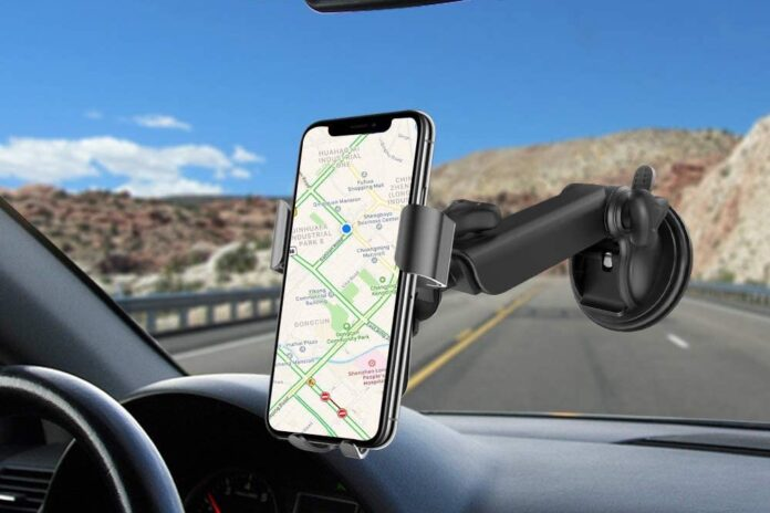 Squish Qi Fast Charging Wireless Car Charger Mount