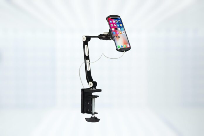 Suptek Aluminum Alloy Cell Phone Desk Mount Stand