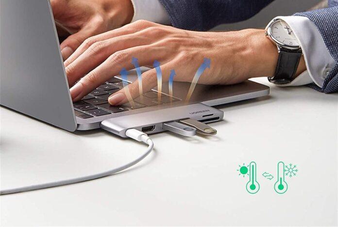 UGREEN 6 in 2 USB C Hub