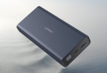 UGREEN Portable Charger 20000mAh PD Power Bank
