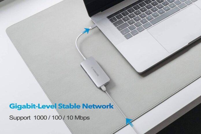 VANMASS Aluminum USB C Hub