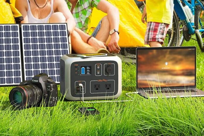 WATTFUN Portable Power Station 500Wh With Regulated Power