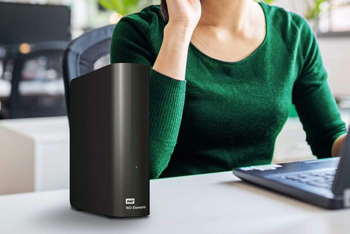 WD 10TB Elements Desktop Hard Drive