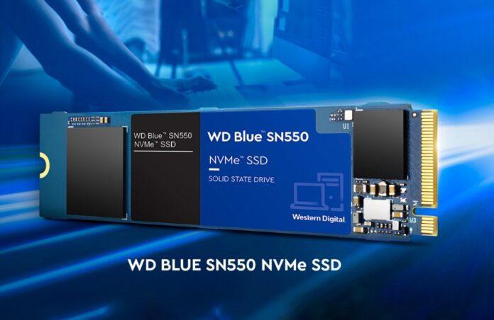 WD 1TB Blue SN550 NVMe Internal SSD