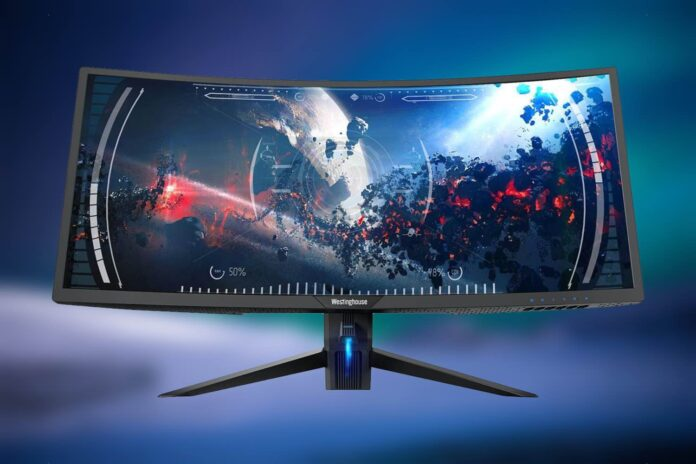 Westinghouse 34-inch 1440p 100Hz UltraWide Monitor