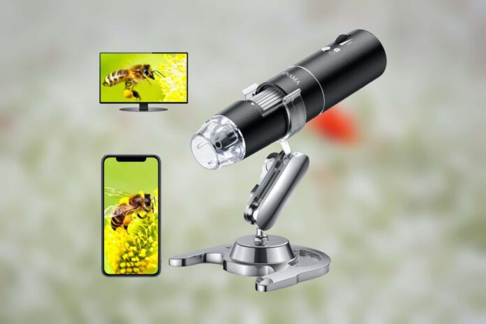 YINAMA 50x to 1000x Magnification Microscope Camera