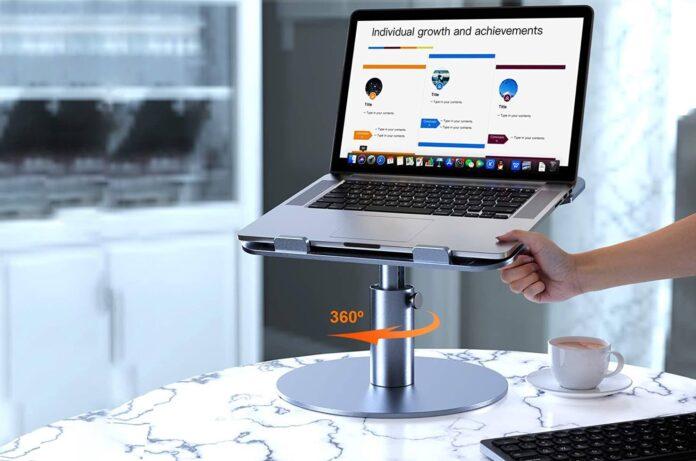 YoFeW Aluminum Laptop Riser