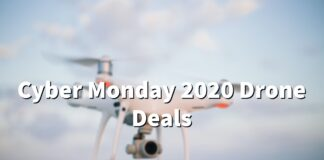 cyber monday drone deals