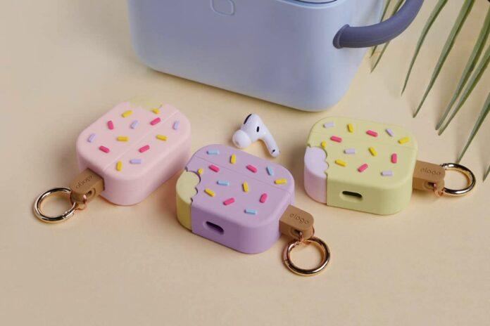 elago Ice Cream AirPods Pro Case with Keychain