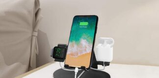 3 in 1 Aluminum Charging Station