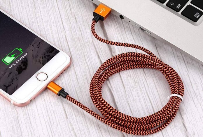 Aioneus 6FT 3 Pack Lightning Cable Braided Fast Phone Charging Cord