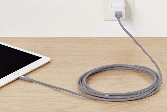 AmazonBasics Lightning to USB A Cable,