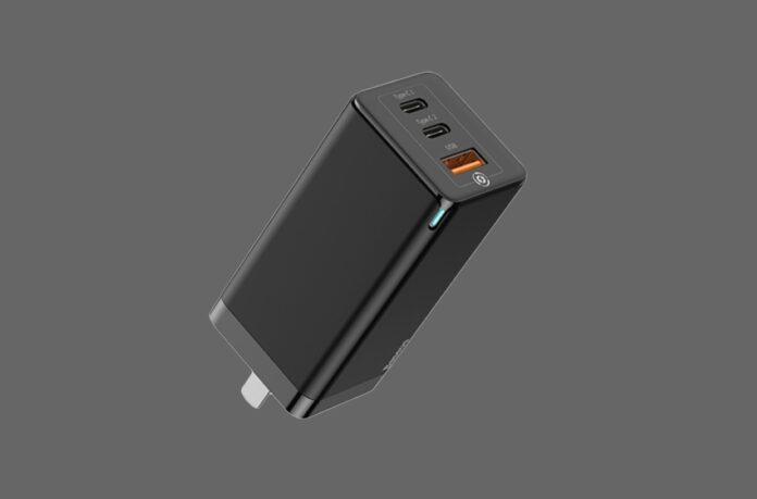 Baseus 65W Fast Portable 3 Port Charger