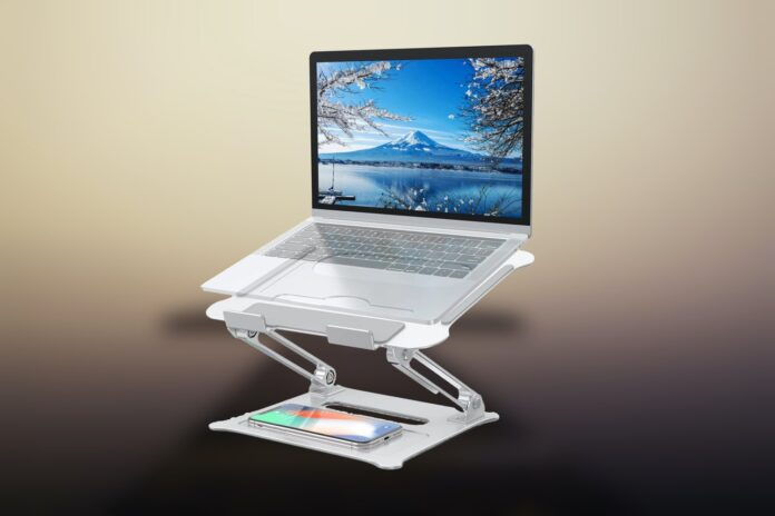 FYSMY Ergonomic Portable Laptop Stand with Heat-Vent