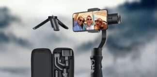 Hohem 3-axis Gimbal For iPhone
