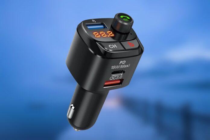 Nulaxy Bluetooth 5.0 FM Transmitter