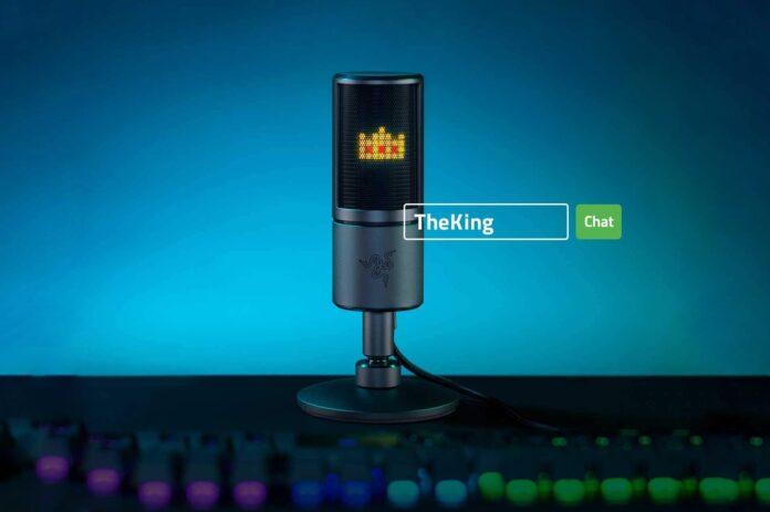 Razer Seiren Emote Streaming Microphone