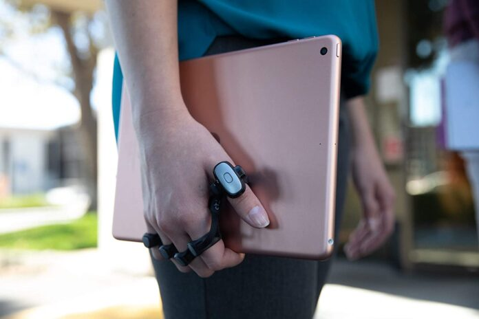 Tap Strap 2 - Wearable Keyboard, Mouse & Air Gesture Controller