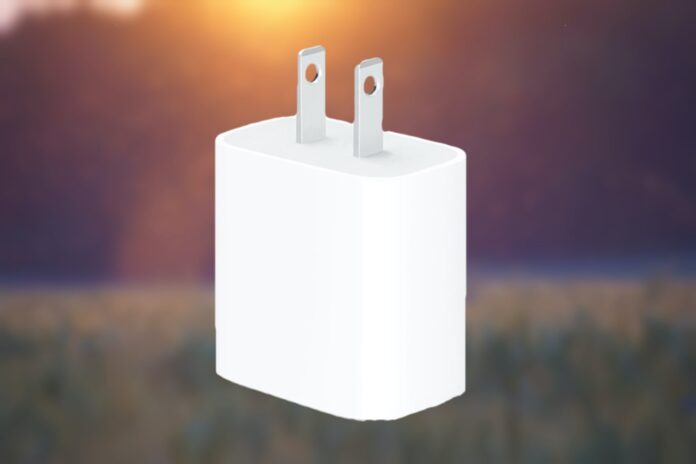 USB-C power adapter 20W by Apple