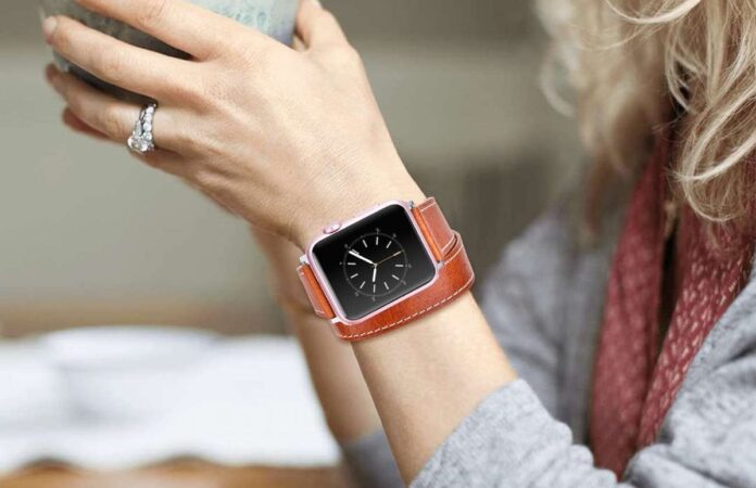 V-MORO Leather Apple Watch Bands