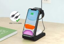 JoyGeek 3 in 1 Wireless Charger