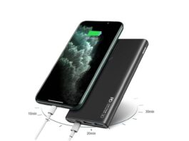 TOZO WB1 PD + QC 3.0 Portable Charger 10000mAh Slim and Light Fast Power Bank