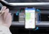 VANMASS 15W Wireless Car Charger Auto Clamping