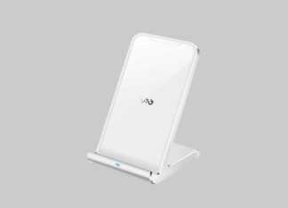Vebach Fast Wireless Charger Aluminum Frame
