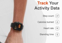 Virmee VT3 Fitness Tracker with Heart Rate Monitor
