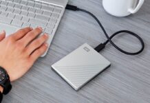 WD 5TB My Passport Ultra Blue Portable External Hard Drive