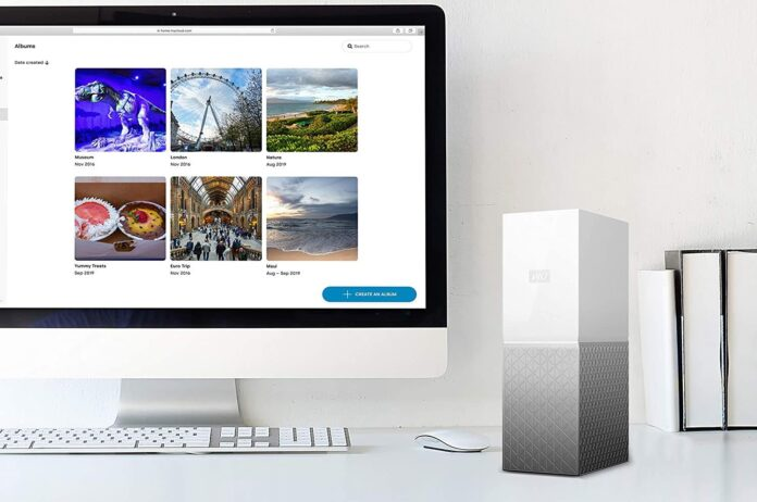 WD 8TB My Cloud Home Personal Cloud
