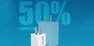 Anker Nano Charger PIQ 3.0 Durable Compact Fast Charger
