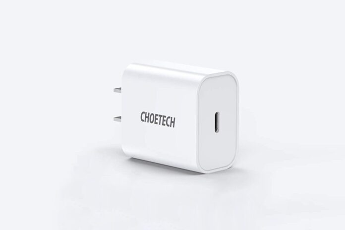 CHOETECH 20W PD Fast Charger
