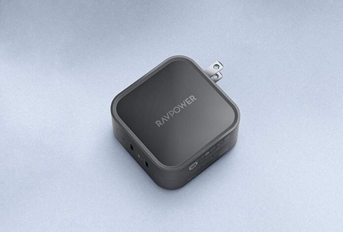 RAVPower 90W 2-Port Wall Charger