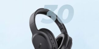 Tribit QuietPlus 50 Bluetooth Headphone