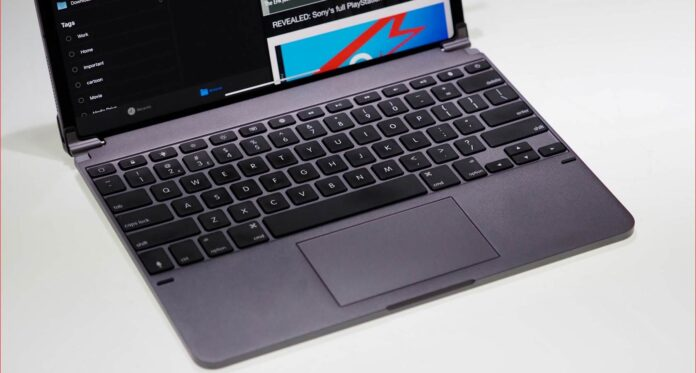 Brydge 12.9 Pro+ Wireless Keyboard