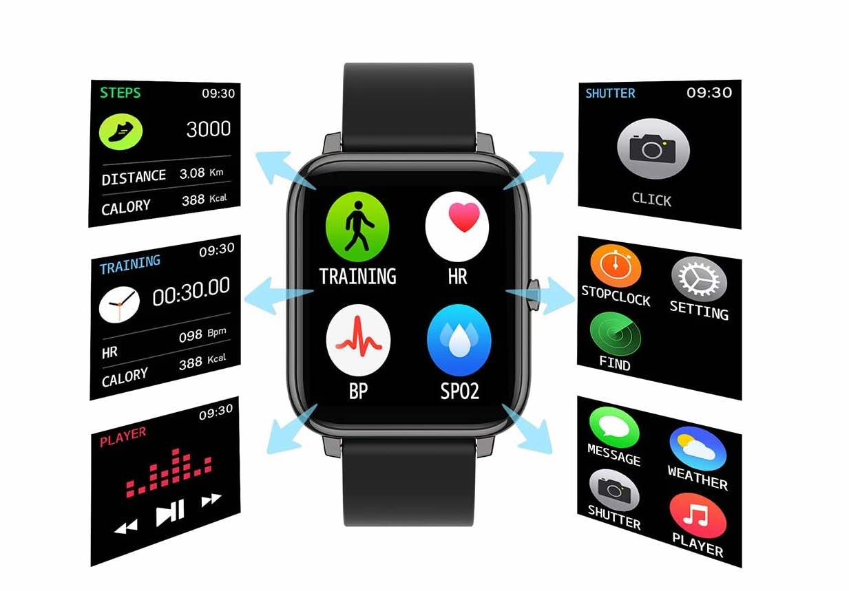Get All The Fitness Feature Just Like In Apple Watch With This $36 Smartwatch