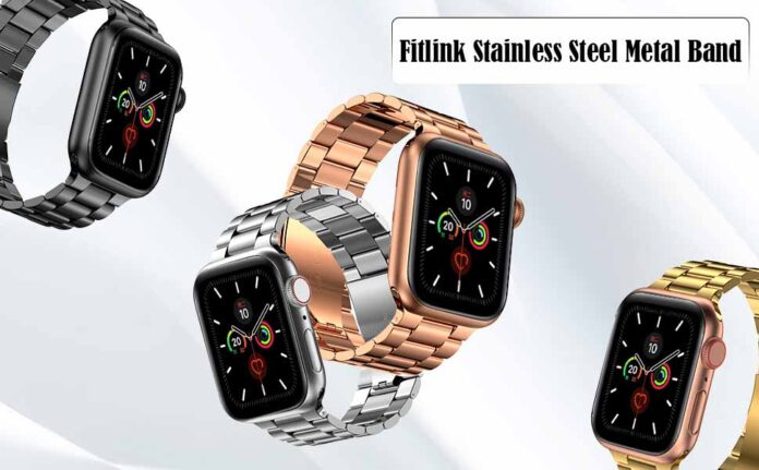Fitlink Stainless Steel Metal Band