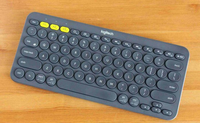 Logitech K380 Wireless Keyboard_