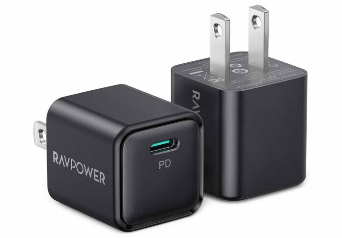 RAVPower 2-Pack 20W iPhone Fast Charger