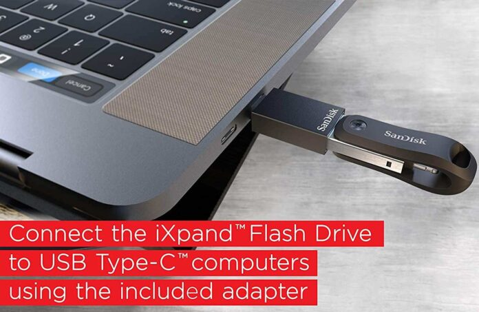 SanDisk 128GB iXpand Flash Drive