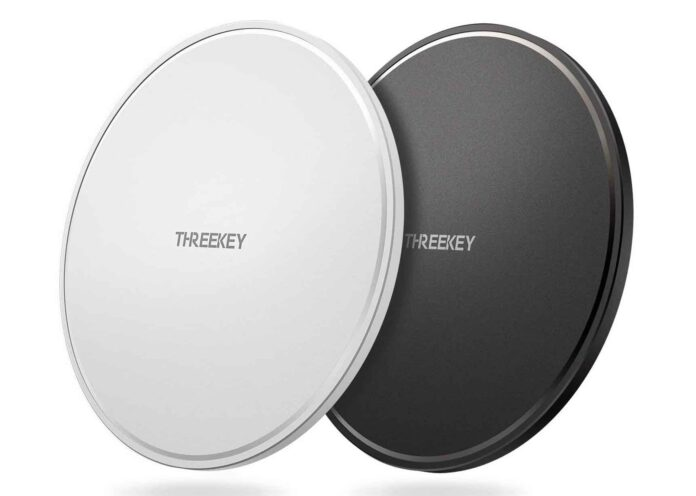 THREEKEY 2 Pack Wireless Charger